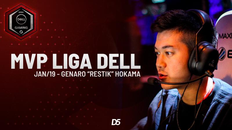 Restik é eleito o MVP da Liga Dell de janeiro