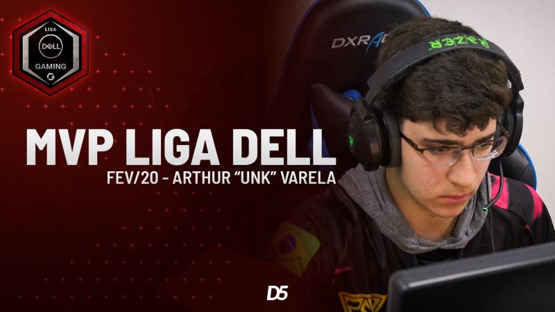 UnK é eleito o MVP da Liga Dell de fevereiro