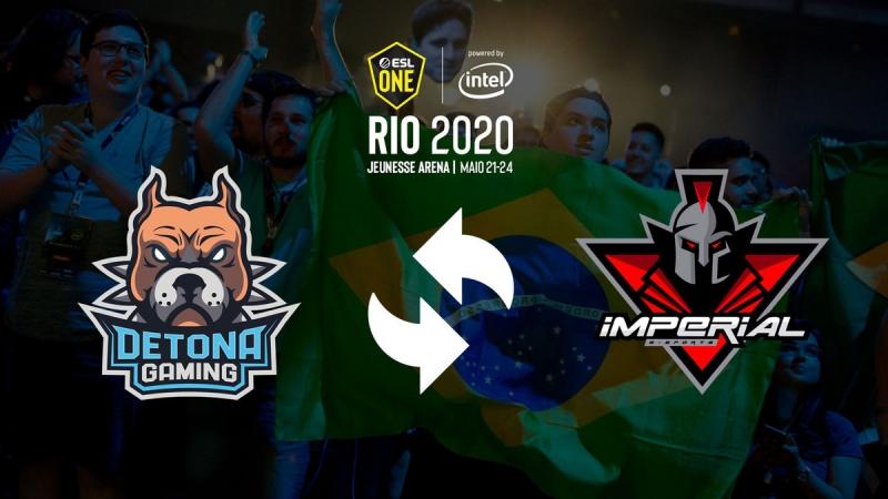 ESL anuncia Imperial como substituta da DETONA no closed SA para Major do Rio