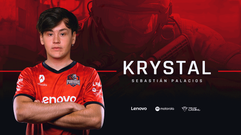Krystal está de volta à Furious Gaming