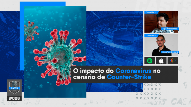 CAST5 #06 - O impacto do coronavírus no cenário de CS