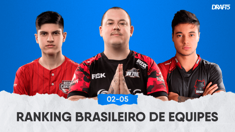 Ranking Brasileiro de CS:GO - Maio