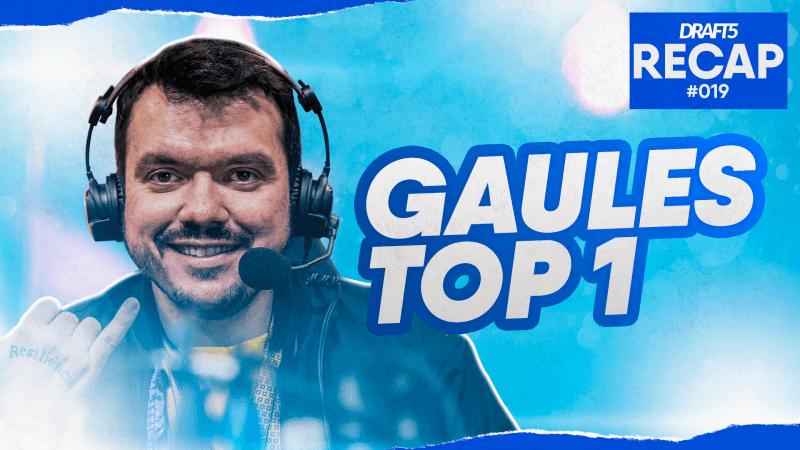 DRAFT5 Recap #19 - Gaules Top 1, MIBR e Yeah recebem ultimato da Valve e Meyern pode ir jogar na Europa