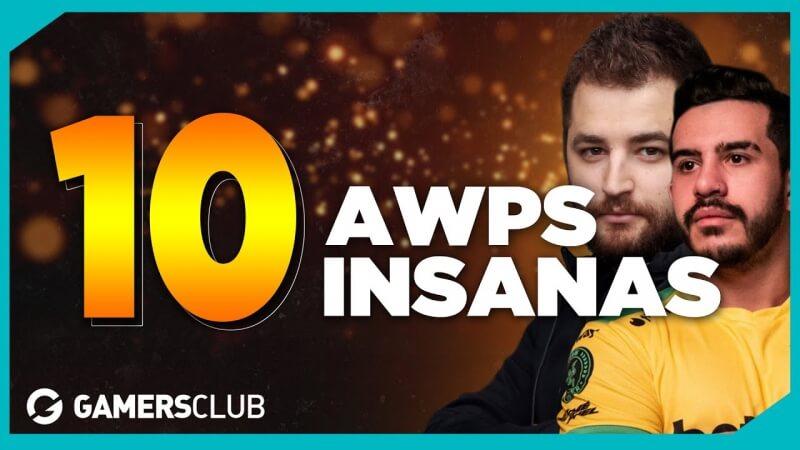10 melhores jogadas de AWPs do CS:GO | Lista Gamers Club #29