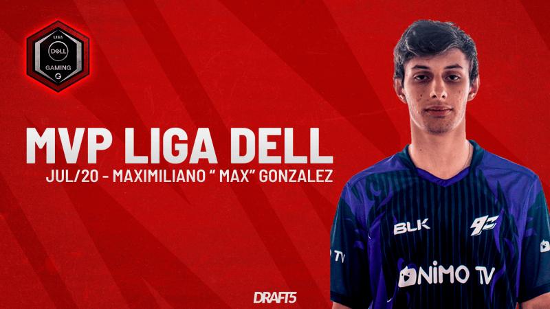 max é eleito o MVP da Liga Dell de julho