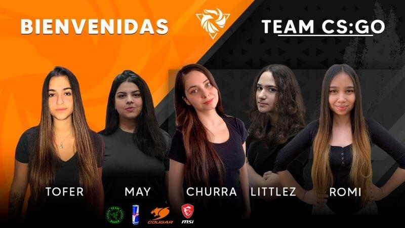 Rebirth apresenta nova equipe feminina com três brasileiras