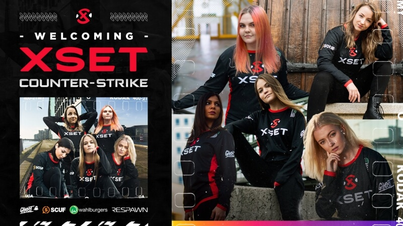 XSET contrata elenco feminino ex-Originem e ingressa no Counter-Strike