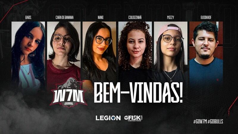 W7M apresenta line-up feminina