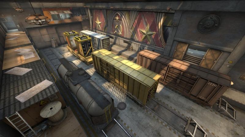 Dentre os profissionais, Train vem em queda nos últimos anos | Foto: Reprodução/Valve