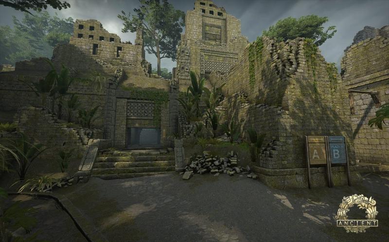 Ancient tem tudo para ser um dos piores mapas da rotação   Foto: Reprodução/Valve