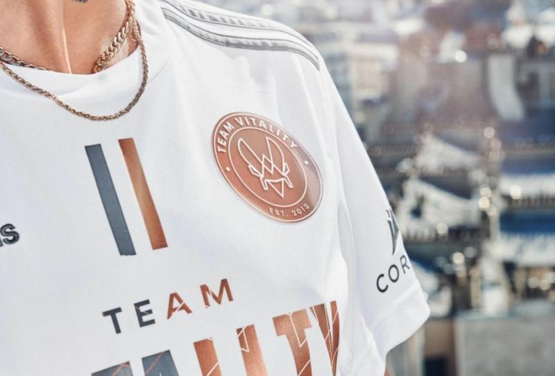 O novo manto da Team Vitality visto de perto   Foto: Divulgação/Team Vitality
